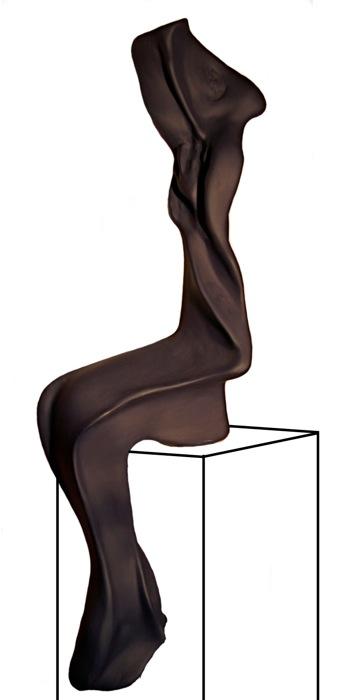 Sitzende - Galerie Meilenstein