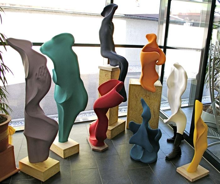 Skulpturengruppe Zwischenräume  - Galerie Meilenstein