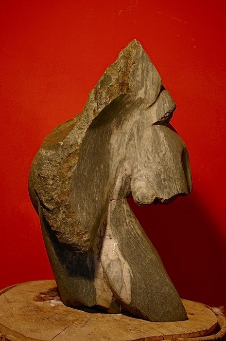 Schachfigur Pferd - Bepe' Meilenstein